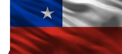 Bandera de Chile para apuestas.cl