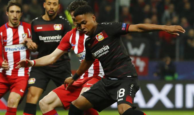 Bayer Leverkusen choca con el Wolfsburgo