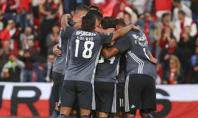 Benfica visita al Leipzig en Alemania.