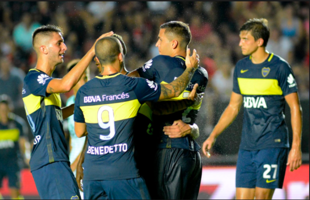 Boca Juniors vs U. Santa Fe