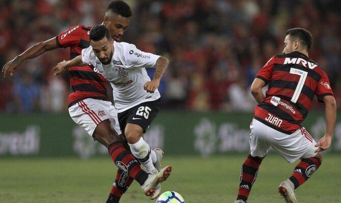 Corinthians vs Flamengo, Copa de Brasil