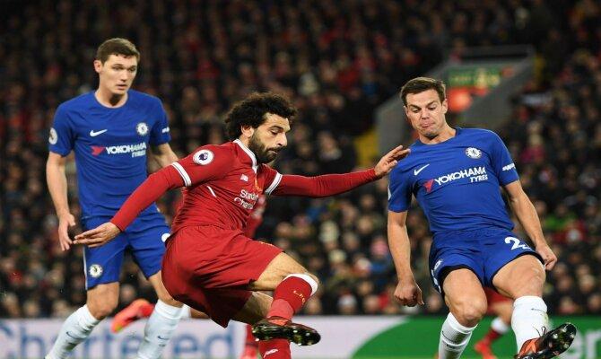 Chelsea vs Liverpool, Premier League