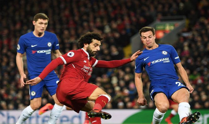 Chelsea vs Liverpool, Premier League