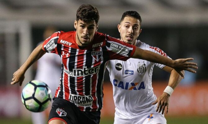 Santos vs Sao Paulo, Brasileirao 2018