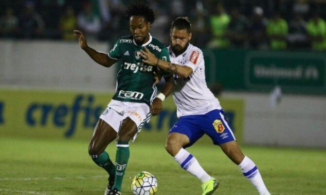Palmeiras vs Cruzeiro, Copa de Brasil