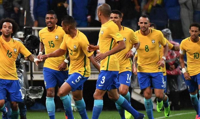 Seleccion brasileña, Bodog
