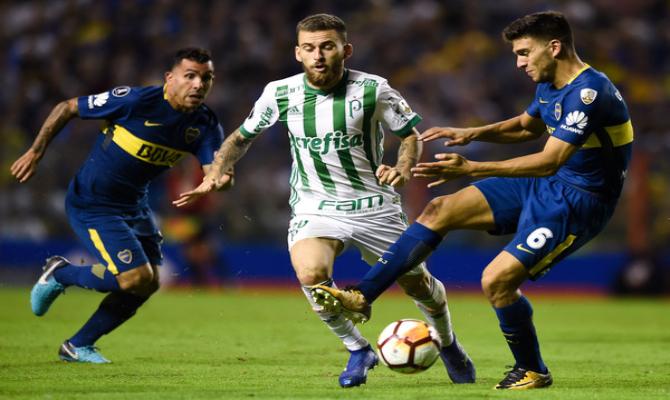 Boca Juniors vs Palmeiras