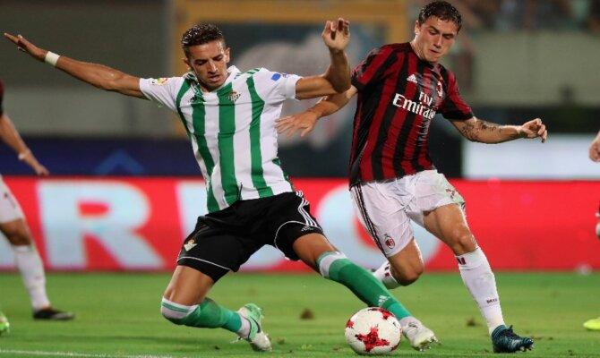 Milán vs Real Betis