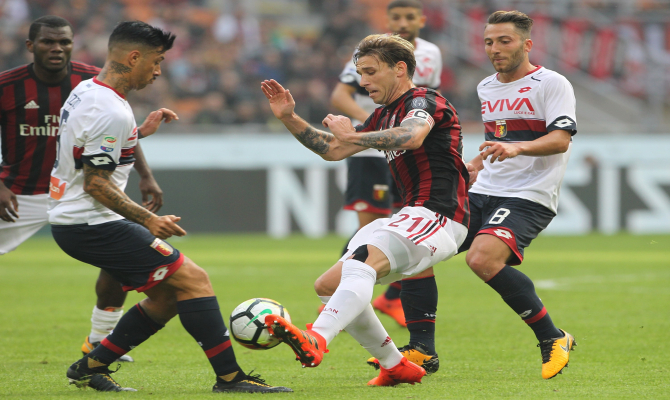 Milán vs Genoa