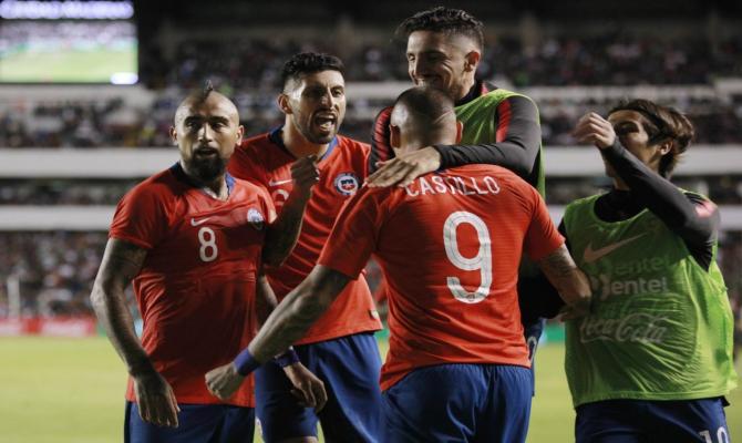 Chile vs Honduras