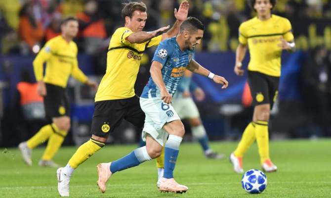 Atlético de Madrid vs Borussia Dortmund