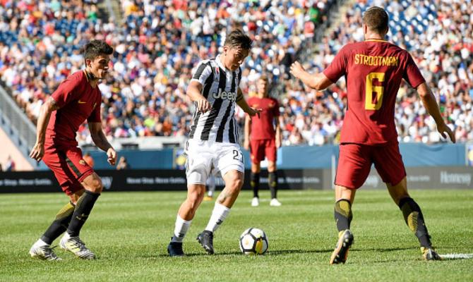 Previa de la Juventus vs Roma en la Serie A