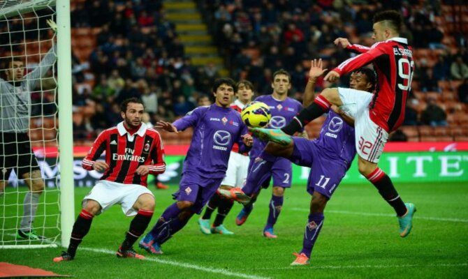 Previa del Milán vs Fiorentina en la Serie A
