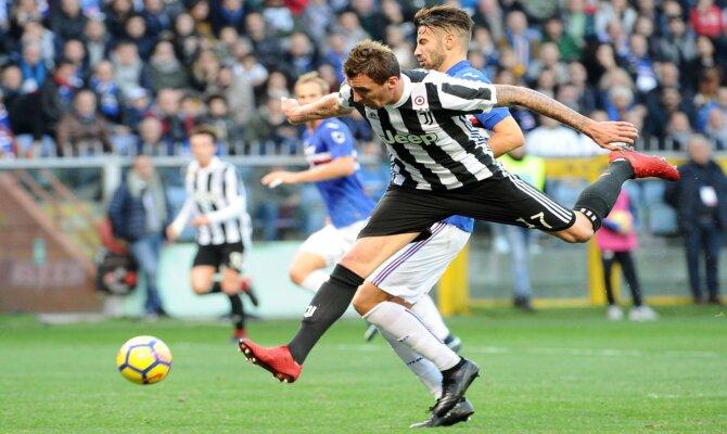 Previa para el Juventus vs Sampdoria de la Serie A