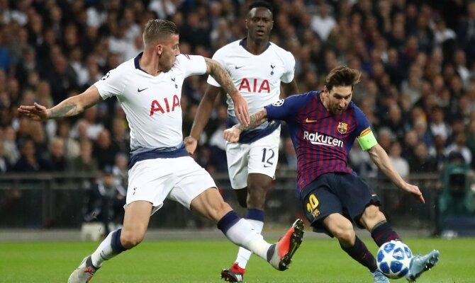 Apuesta Barcelona vs Tottenham de la UEFA Champions League