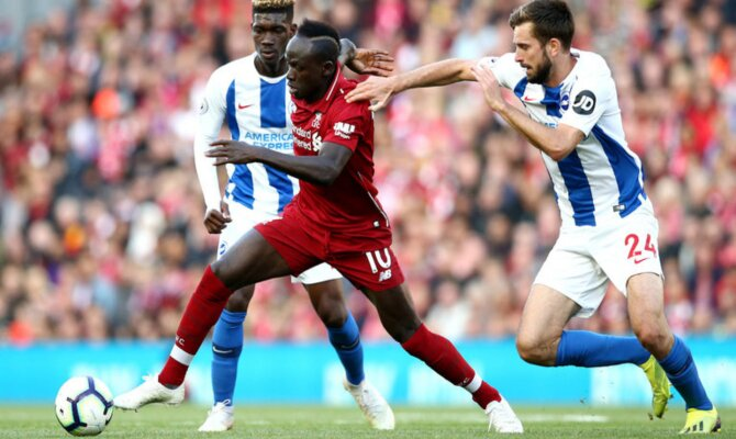 Previa para el Brighton vs Liverpool de la Premier League