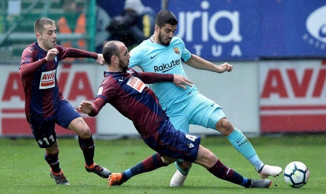 Previa para el Barcelona vs Eibar de la Liga Santander