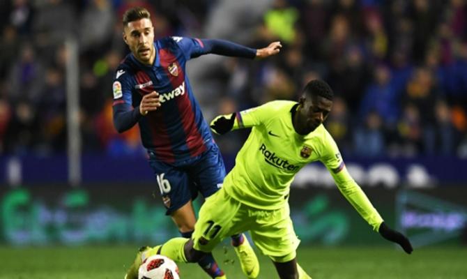 Previa para el Barcelona vs Levante de la Copa del Rey