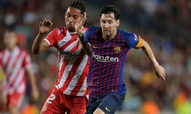 Previa para el Girona vs Barcelona de la Liga Santander