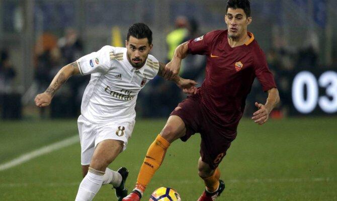 Previa para el Roma vs Milán de la Serie A de Italia