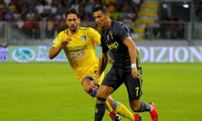 Previa para el Juventus vs Frosinone de la Serie A