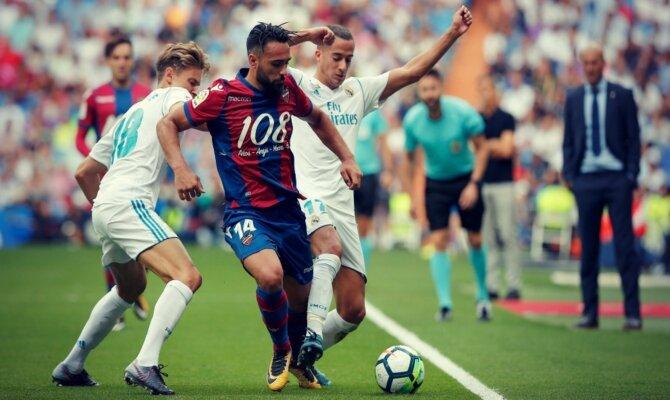 Previa para el Levante vs Real Madrid de la Liga Santander