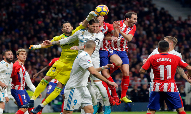 Previa para el Atlético de Madrid vs Real Madrid de la Liga Santander