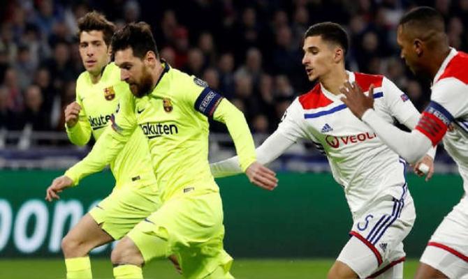 Previa para el Barcelona vs Lyon de la UEFA Champions League