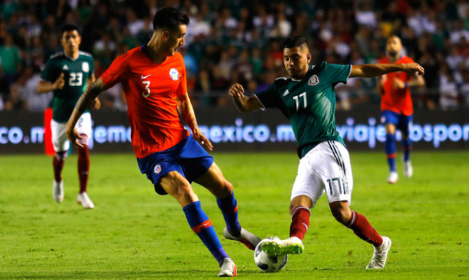 Previa para el México vs Chile de un Amistoso Internacional