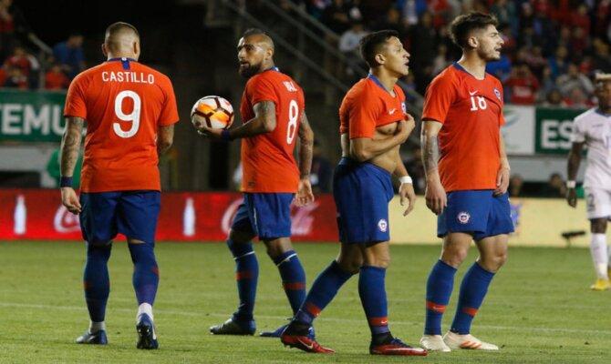 Previa para el Estados Unidos vs Chile de los Amistosos preparatorios
