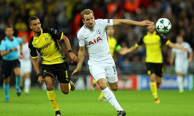 Previa para el Borussia Dortmud vs Tottenham de la UEFA Champions League