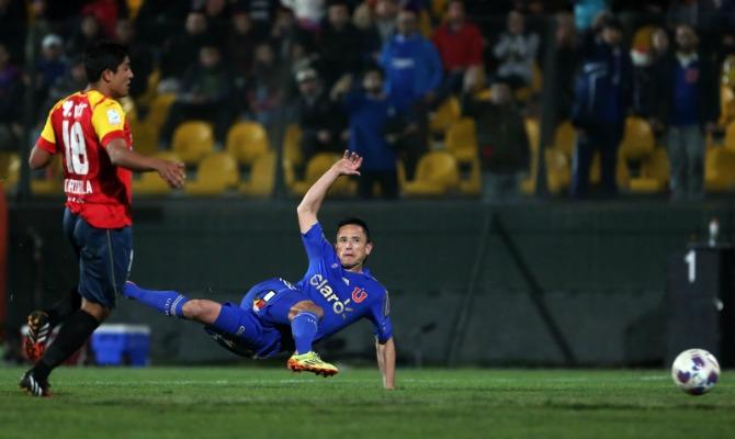 Cobresal y la U chocan por Copa Chile