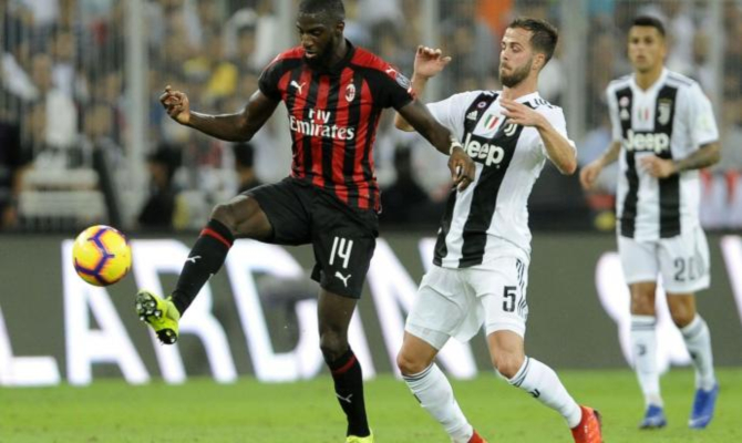 Previa para el Juventus vs Milán de la Serie A de Italia