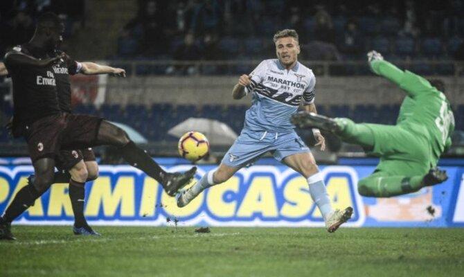 Previa para el Milán vs Lazio de la Serie A de Italia