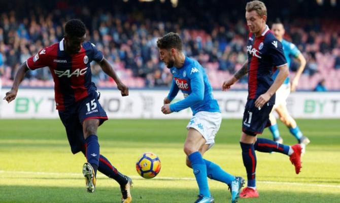 Previa para el Bologna vs Napoli de la Serie A de Italia