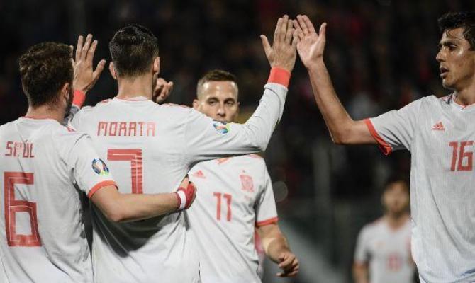 Previa para el España vs Suecia de las Eliminatorias de la Euro