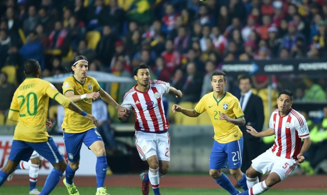 Previa para el Brasil vs Paraguay de la Copa América