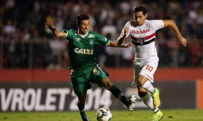 Previa para el Sao Paulo vs Chapecoense del Brasileirao