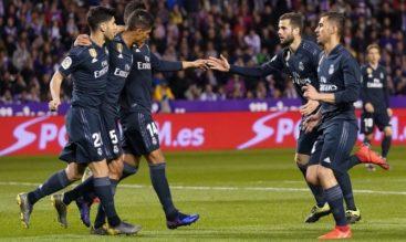 Previa para el Real Madrid vs Valladolid de la Liga Santander