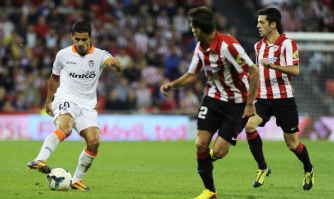 Previa para el Athletic Bilbao vs Valencia de la Liga Santander