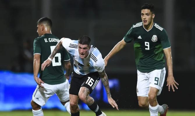 Previa para el Argentina vs México del Amistoso Internacional