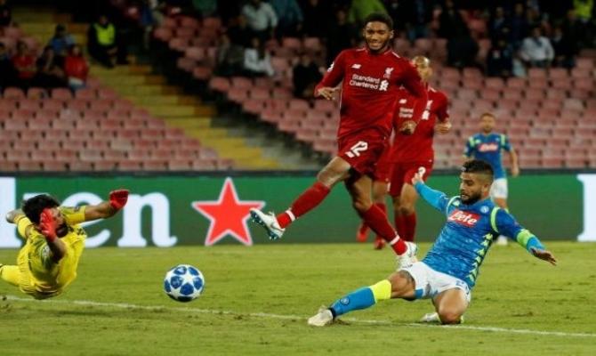 Previa para el Napoli vs Liverpool de la UEFA Champions League