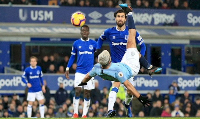 Previa para el Everton vs Manchester City de la Premier League