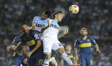 Previa para el Boca Juniors vs Racing Club de la Superliga Argentina