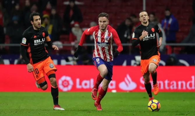 Previa para el Atlético de Madrid vs Valencia de la Liga Santander