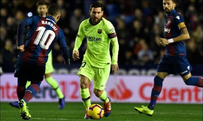 Previa para el Levante vs Barcelona de la Liga Santander