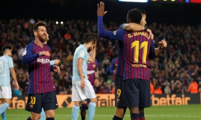Previa para el Barcelona vs Celta de Vigo de la Liga Santander