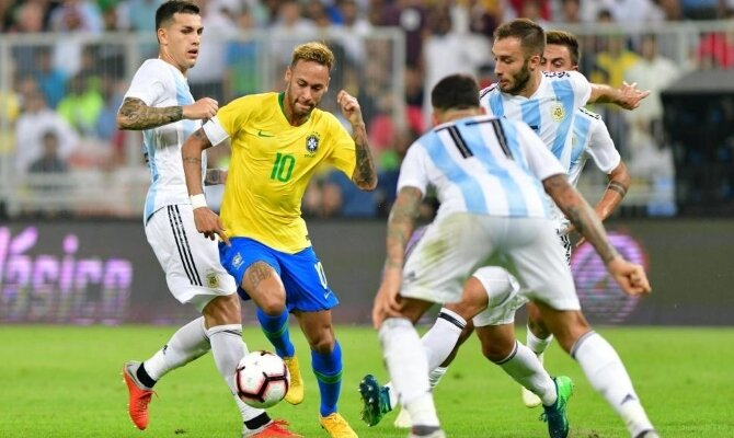 Previa para el Brasil vs Argentina por un amistoso internacional