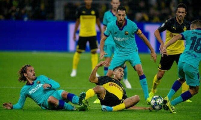 Previa para el Barcelona vs Borussia Dortmund de la UEFA Champions League