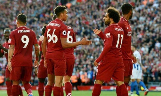 Apuesta para el Liverpool vs Brighton de la Premier League